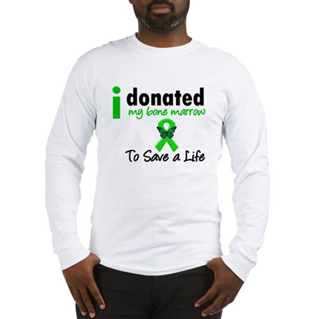 BoneMarrowDonorSaveLife Long Sleeve T-Shirt