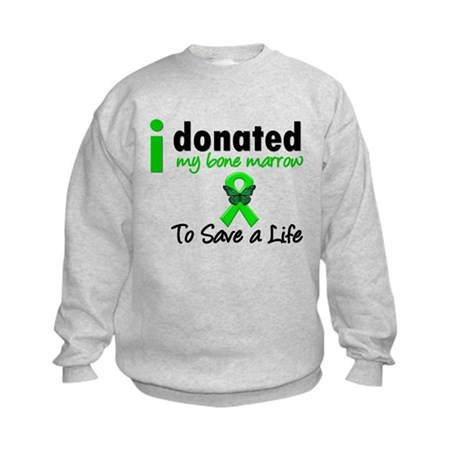 BoneMarrowDonorSaveLife Kids Sweatshirt