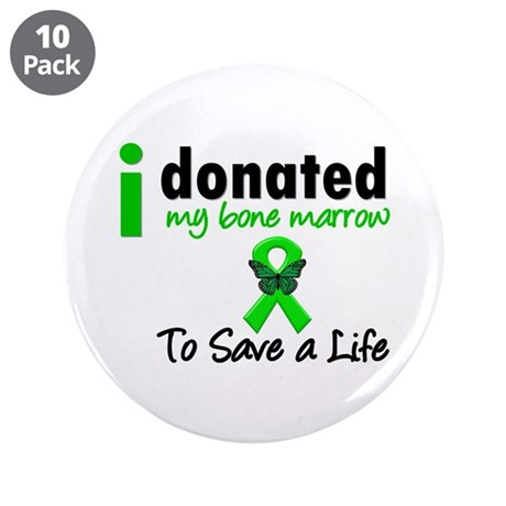 "BoneMarrowDonorSaveLife 3.5"" Button (10 pack)"