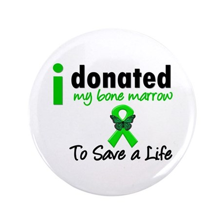 "BoneMarrowDonorSaveLife 3.5"" Button (100 pack)"