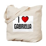 I LOVE GABRIELLA Tote Bag