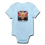 """Winston Churchill"" Onesie"