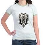 N.J. Capitol Police Jr. Ringer T-Shirt