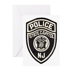 N.J. Capitol Police Greeting Cards (Pk of 20)