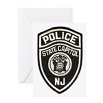 N.J. Capitol Police Greeting Card