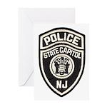 N.J. Capitol Police Greeting Card