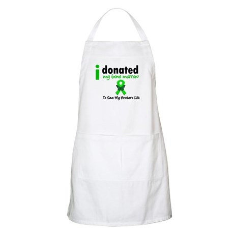 BoneMarrowDonortoBrother BBQ Apron