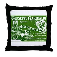 Funny Philadelphia restaurant Throw Pillow