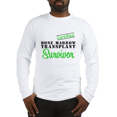 Certified BMT Survivor Long Sleeve T-Shirt