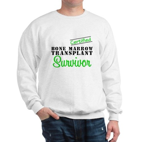Certified BMT Survivor Sweatshirt