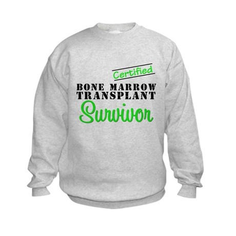 Certified BMT Survivor Kids Sweatshirt
