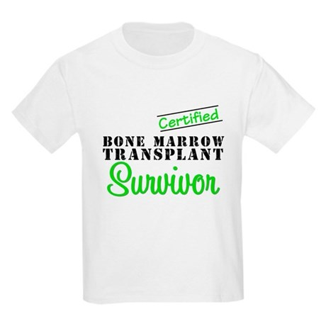 Certified BMT Survivor Kids Light T-Shirt