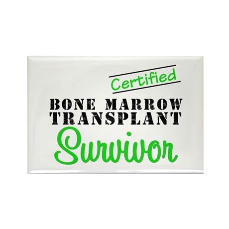 Certified BMT Survivor Rectangle Magnet