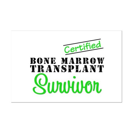 Certified BMT Survivor Mini Poster Print