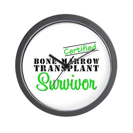 Certified BMT Survivor Wall Clock