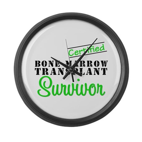 Certified BMT Survivor Large Wall Clock