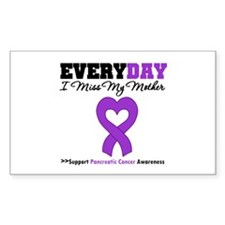 PancreaticCancerMother Rectangle Decal