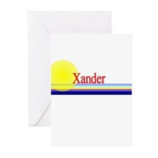 Xander Greeting Cards (Pk of 10)