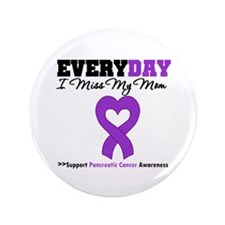 "PancreaticCancerMom 3.5"" Button"