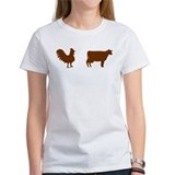 Brown Chicken Brown Cow  T