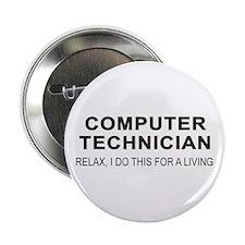 """Computer Tech 2.25"""" Button (100 pack)"""