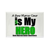 Bone Marrow Donor Hero Rectangle Magnet (100 pack)