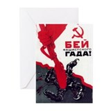 SMASH FACISM Greeting Cards (Pk of 10)