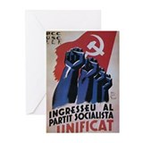 Vitage Soviet Design Greeting Cards (Pk of 10)