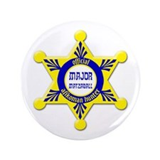 "Major Matzaball Badge - 3.5"" Button"