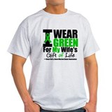I Wear Green For Wife T-Shirt