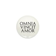 Omnia Vincit Amor Mini Button (10 pack)