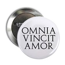 "Omnia Vincit Amor 2.25"" Button (100 pack)"