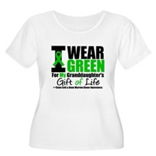 I Wear Green Granddaughter T-Shirt