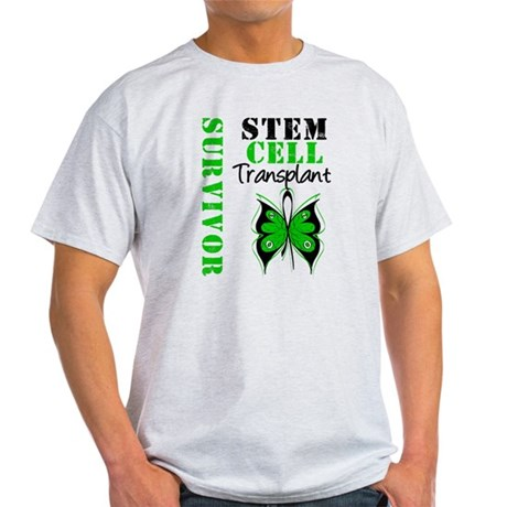StemCellSurvivorButterfly Light T-Shirt