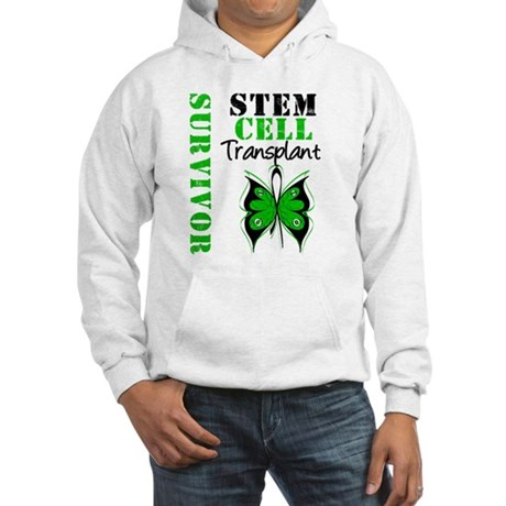 StemCellSurvivorButterfly Hooded Sweatshirt
