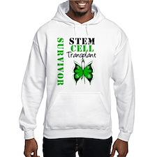 StemCellSurvivorButterfly Hooded Sweatshirt
