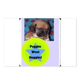 Huggles Postcards (Package of 8)