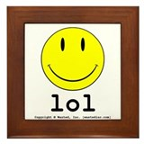 Smiley Framed Tile