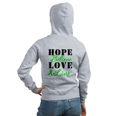 SCT BMT Hope Motto Women's Zip Hoodie