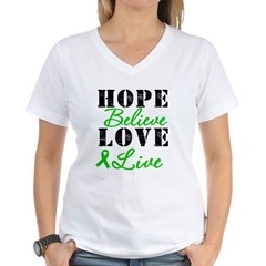 SCT BMT Hope Motto Women's V-Neck T-Shirt