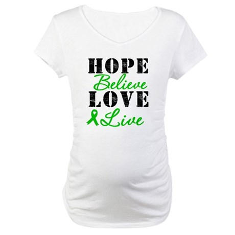 SCT BMT Hope Motto Maternity T-Shirt