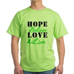 SCT BMT Hope Motto Green T-Shirt