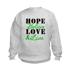 SCT BMT Hope Motto Kids Sweatshirt