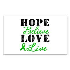 SCT BMT Hope Motto Rectangle Sticker 10 pk)