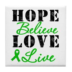 SCT BMT Hope Motto Tile Coaster