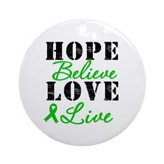 SCT BMT Hope Motto Ornament (Round)