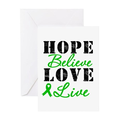 SCT BMT Hope Motto Greeting Card
