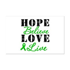 SCT BMT Hope Motto Mini Poster Print