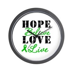 SCT BMT Hope Motto Wall Clock