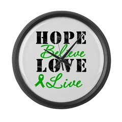SCT BMT Hope Motto Large Wall Clock